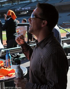 San Francisco Giants, S.F. Giants, photo, 2012, Postseason, front office