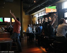 San Francisco Giants, S.F. Giants, photo, 2012, Fans