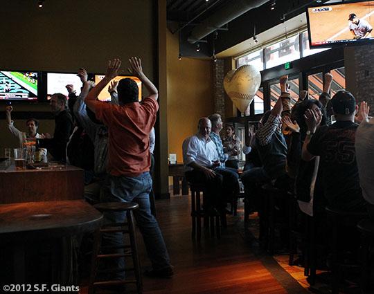 San Francisco Giants, S.F. Giants, photo, 2012, Postseason, Fans