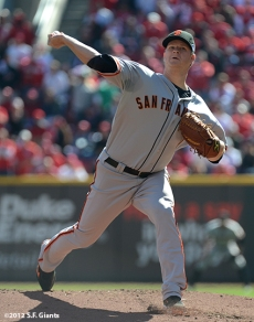 sf giants, san francisoc giants, photo, 10/11/2012, nlds clinch, win, matt cain