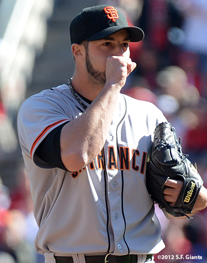 sf giants, san francisoc giants, photo, 10/11/2012, nlds clinch, win, george kontos
