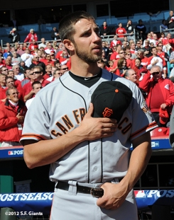 sf giants, san francisco giants, photo, nlds, 2012, madison bumgarner