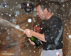 10/11/2012, nlds clinch, win, sf giants, san francisco giants, ryan vogelsong