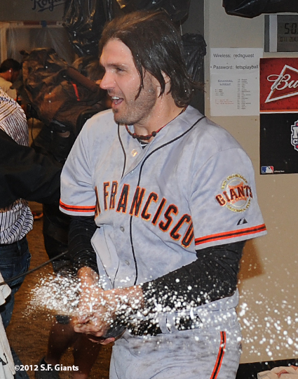 10/11/2012, nlds clinch, win, sf giants, san francisco giants, barry zito