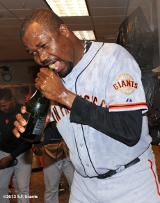 10/11/2012, nlds clinch, win, sf giants, san francisco giants, guillermo mota