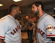Pablo Sandoval & Angel Pagan