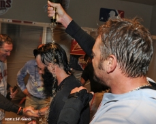 10/11/2012, nlds clinch, win, sf giants, san francisco giants, brian wilson, jeremy affeldt