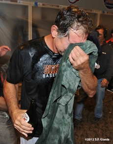 10/11/2012, nlds clinch, win, sf giants, san francisco giants, bruce bochy