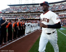 San Francisco Giants, S.F. Giants, photo, 2012, NLCS, Guillermo Mota
