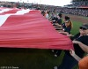San Francisco Giants, S.F. Giants, photo, 2012, NLCS, Fans with the flag