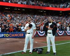 Madison Bumgarner and Dave Righetti