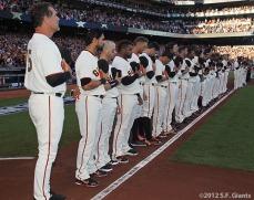 San Francisco Giants, S.F. Giants, photo, 2012, NLCS, Team