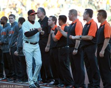 San Francisco Giants, S.F. Giants, photo, 2012, NLCS, Ron Wotus
