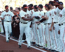 San Francisco Giants, S.F. Giants, photo, 2012, NLCS, Santiago Casilla