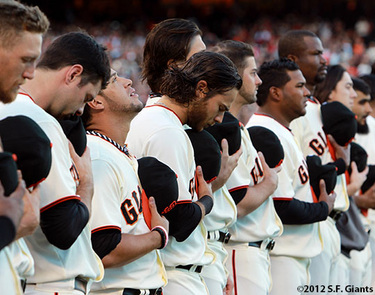 San Francisco Giants, S.F. Giants, photo, 2012, NLCS, Brandon Crawford