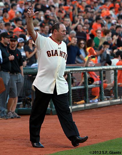 San Francisco Giants, S.F. Giants, photo, 2012, NLCS, Will Clark