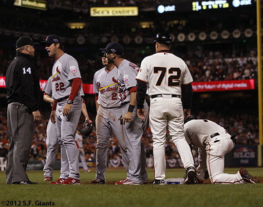 San Francisco Giants, S.F. Giants, photo, 2012, NLCS, Mike Matheny