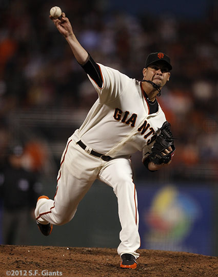 San Francisco Giants, S.F. Giants, photo, 2012, NLCS, Ryan Vogelsong