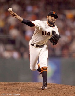 sf giants, san francisco giants, photo, nlcs, 2012, sergio romo