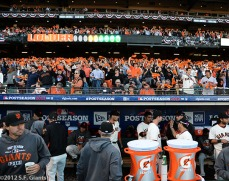 San Francisco Giants, S.F. Giants, photo, 2012, NLCS, Team and Fans