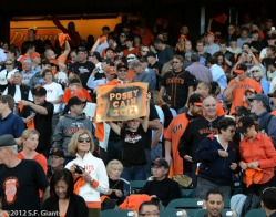 sf giants, san francisco giants, photo, nlcs, 2012, fans