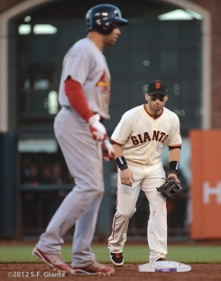 sf giants, san francisco giants, photo, nlcs, 2012, carlos beltran, marco scutaro