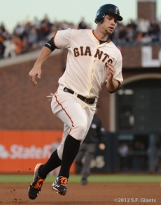 San Francisco Giants, S.F. Giants, photo, 2012, NLCS, Brandon Belt