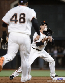 San Francisco Giants, S.F. Giants, photo, 2012, NLCS, Ryan Theriot