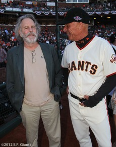 Bob Weir and Tim Flannery