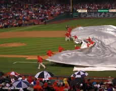 sf giants, san francisco giants, photo, 10/17/2012, nlcs game 3, rain delay