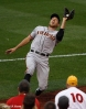 sf giants, san francisco giants, photo, 10/17/2012, nlcs game 3, hunter pence