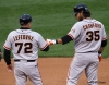 sf giants, san francisco giants, photo, 10/17/2012, nlcs game 3, joe lefebvre, brandon crawford