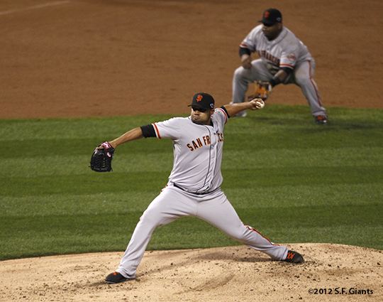 sf giants, san francisco giants, photo, 10/17/2012, nlcs game 3, jose mijares