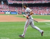 sf giants, san francisco giants, photo, nlcs, 2012, angel pagan