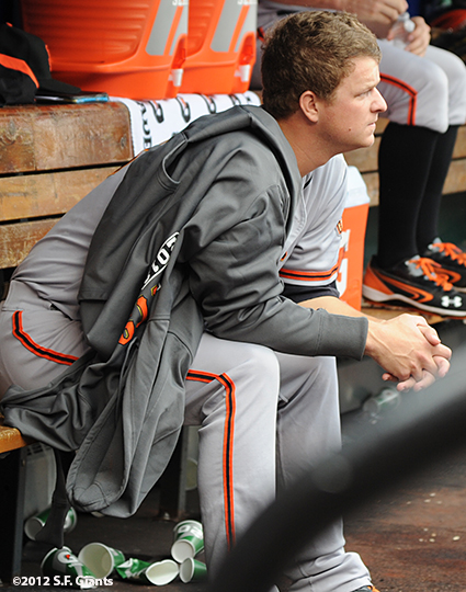 sf giants, san francisco giants, photo, nlcs, 2012, matt cain