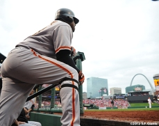 sf giants, san francisco giants, photo, nlcs, 2012, pablo sandoval