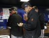sf giants, san francisco giants, photo, 10/17/2012, nlcs game 3, ron wotus, bruce bochy
