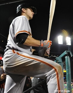 sf giants, san francisco giants, photo, nlcs, 2012, buster posey