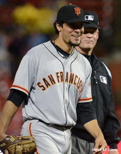 ssf giants, san francisco giants, photo, 10/17/2012, nlcs game 3, JAVIER LOPEZ
