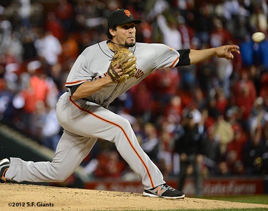 sf giants, san francisco giants, photo, 10/17/2012, nlcs game 3, javier lopez