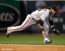 sf giants, san francisco giants, photo, 10/18/2012, nlcs game 4, brandon crawford