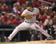 sf giants, san francisco giants, photo, 10/18/2012, nlcs game 4, javier lopez