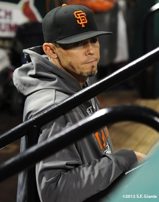 sf giants, san francisco giants, photo, nlcs, 2012, eli whiteside