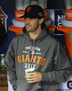 sf giants, san francisco giants, photo, 10/18/2012, nlcs game 4, BARRY ZITO