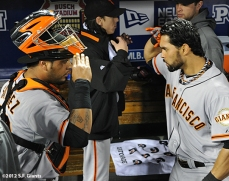 Hector Sanchez & Angel Pagan