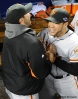 sf giants, san francisco giants, photo, nlcs, 2012, gregor blanco, clay hensley