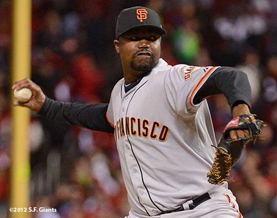 sf giants, san francisco giants, photo, 10/18/2012, nlcs game 4, guillermo mota