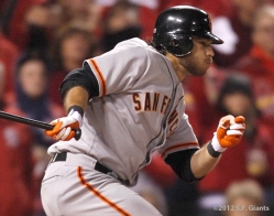 sf giants, san francisco giants, photo, 2012, nlcs, BRANDON CRAWFORD