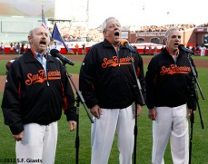 San Francisco Giants, S.F. Giants, photo, 2012, NLCS, The Kingston Trio