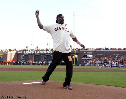 San Francisco Giants, S.F. Giants, photo, 2012, NLCS, Jeffrey Leonard